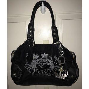 Juicy Couture Velvet Shoulder Bag